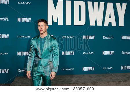 LOS ANGELES - NOV 5:  Nick Jonas at the