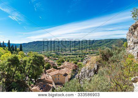 The Village Moustiers St. Marie, Provence, Provence-alpes-cote Dazur, France