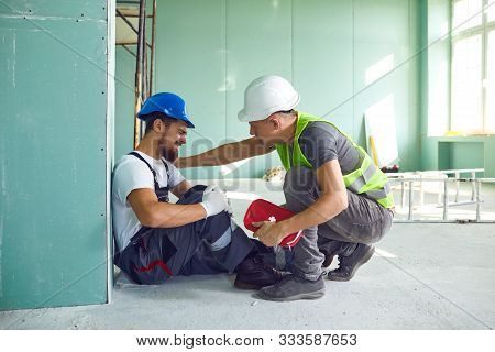 Construction Worker Accident With A Construction Worker.
