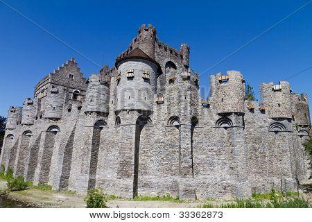 Gravensteen castle. Gent, Belgium