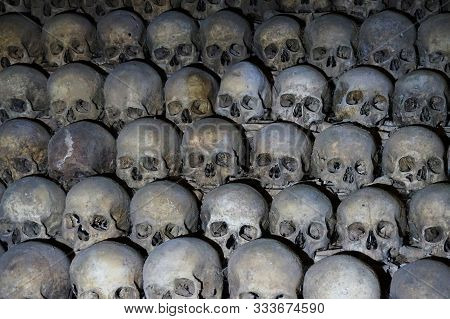 Human Bones And Skulls As Pirate Texture
