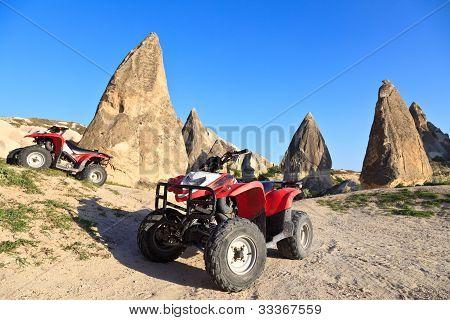 Quad Bikes In Cappadocia, Turkey