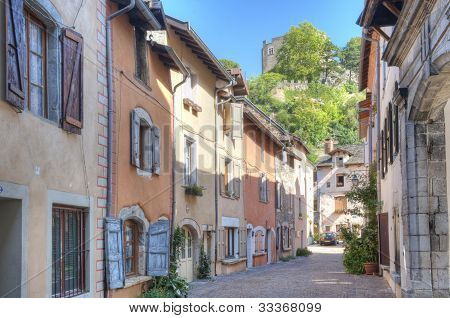 Castle Over Cremieu France