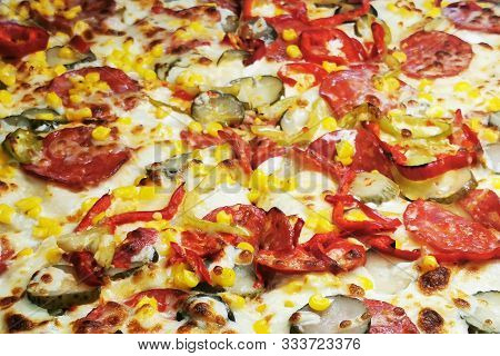 Pizza Food Texture
