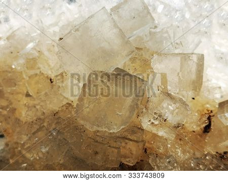 Salt Natural Mineral Texture As Very Nice Background