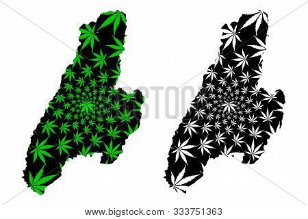 Tolima Department (colombia, Republic Of Colombia, Departments Of Colombia) Map Is Designed Cannabis