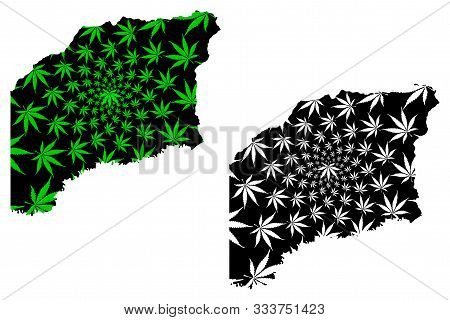 Vichada Department (colombia, Republic Of Colombia, Departments Of Colombia) Map Is Designed Cannabi