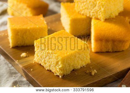 Homemade Cut Up Cornbread