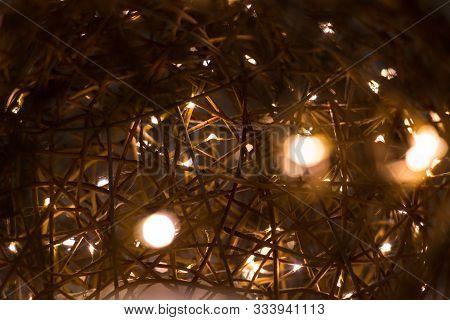 Electric Garland, Beautiful Decorative Wire Beads As Decoration For Holiday, Electric, Electrical, S