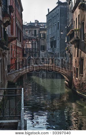 Bridge in Venice/Italy
