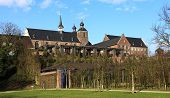 Kamp Monastery in Kamp-Lintfort - North Rhine Westphalia Germany. poster