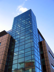Modern Office Building In Liverpool