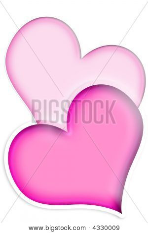 Two Pink Hearts