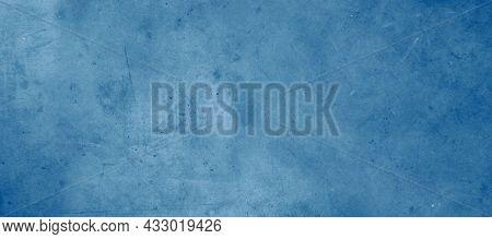 Close-up of blue textured concrete