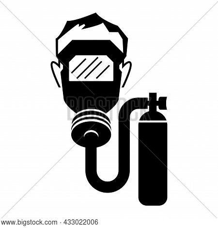 Symbol Icon Warning Sign Breathing Apparatus Required