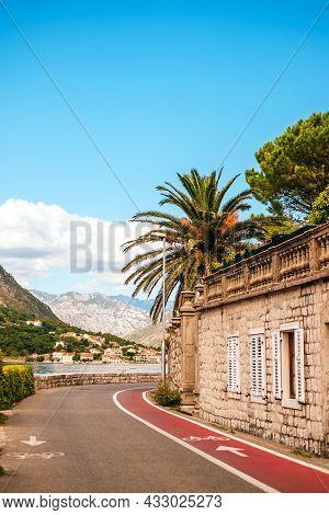 Beautiful Coast Road In The Bay Of Kotor
