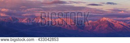 Sierra Nevada mountains in California, USA