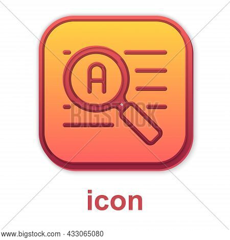 Gold Translator Icon Isolated On White Background. Foreign Language Conversation Icons In Chat Speec