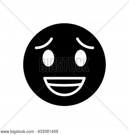 Black Solid Icon For Strange Unique Comical Marvelous Uncuth Wacky Bizarre Curious Fantastic Wonderf