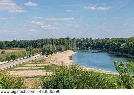 View Of The Dniester River Near Bender Fortress, Moldova