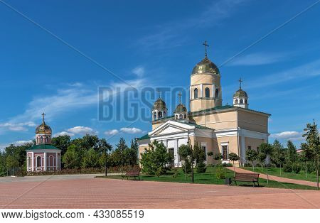 Alexander Nevsky Church In Bender, Moldova