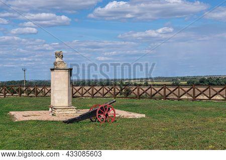 Monument To Ivan Kotlyarevsky N Bender, Moldova