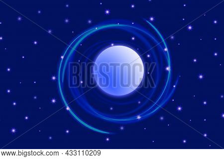 2 Space Abstract Background