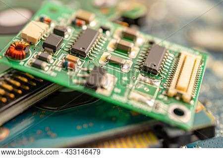 Micro Circuit Main Board Computer Electronic Technology, Hardware, Mobile Phone, Upgrade, Cleaning C