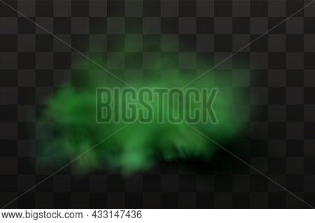 Green Stink Bad Smell, Smoke Or Poison Gases, Chemical Toxic Vapour.