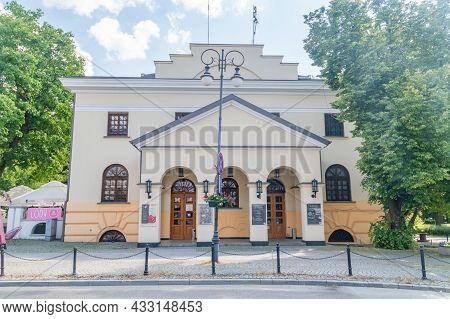 Radom, Poland - June 7, 2021: Former Lublin Horn (dawna Rogatka Lubelska) In Radom.