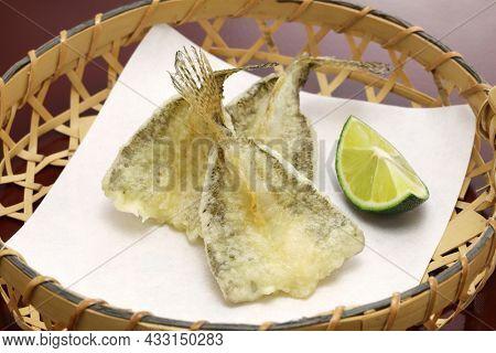 haze ( goby ) tempura, Japanese cuisine