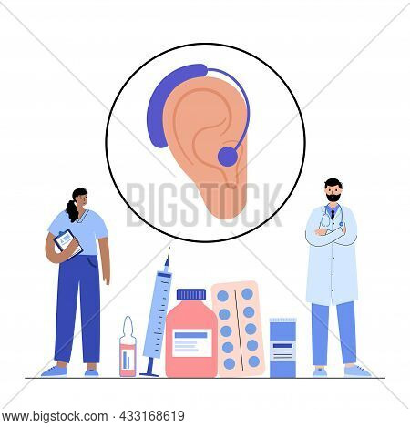 Hearing Aid Technology. Inner And Middle Ear Diagram. Ent Medical Center. Otolaryngologist In Otolar