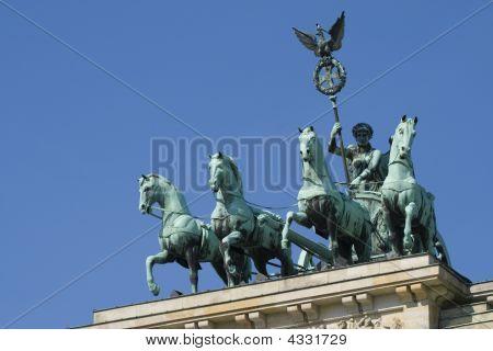 Quadriga, Brandenburg Gate