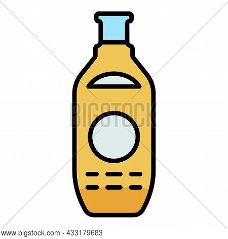 Honey Extract Spray Icon. Outline Honey Extract Spray Vector Icon Color Flat Isolated On White
