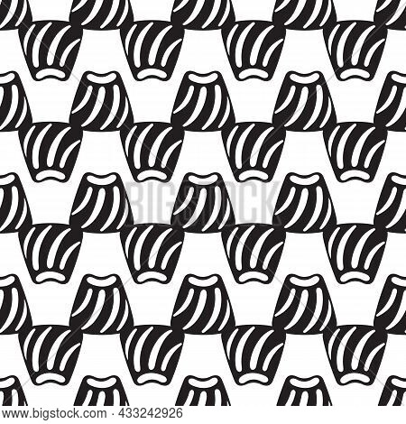 Candy Bonbon Pattern Seamless Background Texture Repeat Wallpaper Geometric Vector