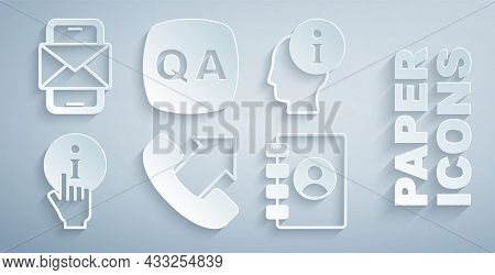 Set Telephone 24 Hours Support, Information, Address Book, Question And Answer And Mobile Envelope I