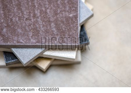 Samples Of Natural Stone For Kitchen Countertops And Floor Tiles. Stone Samples For Countertops On G