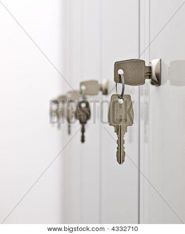 Keys And The Locker Doors
