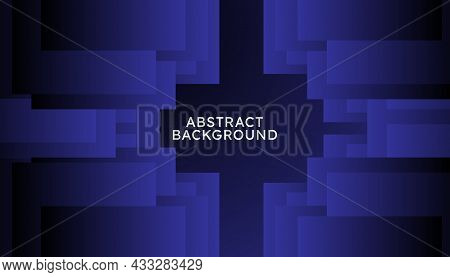 Abstract Blue Geometric Shape Background Of Gradient Smooth Background Texture On Elegant Rich Luxury Background Web Template Or Website Abstract Background Gradient Or Textured Background Blue Paper.