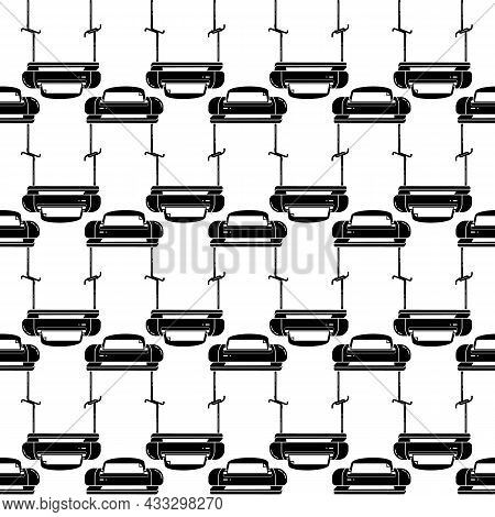 Wide Oriented Printer Pattern Seamless Background Texture Repeat Wallpaper Geometric Vector