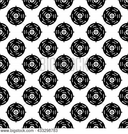 Military Aim Pattern Seamless Background Texture Repeat Wallpaper Geometric Vector