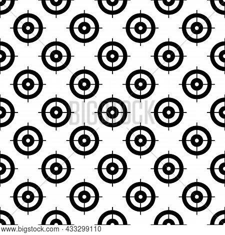 Target Aim Pattern Seamless Background Texture Repeat Wallpaper Geometric Vector