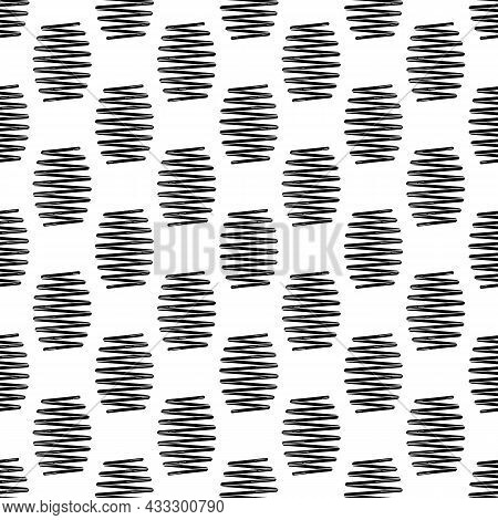 Car Spring Pattern Seamless Background Texture Repeat Wallpaper Geometric Vector