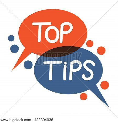 Top Tips, Speech Bubble Text Hint Frequently Asked Questions
