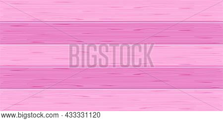Wood Plank, Pink Plank Board Pastel Color For Background, Wooden Horizontal Plank, Empty Wood Plank