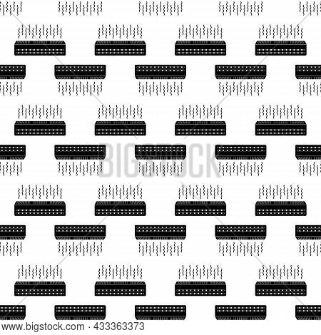 Ceiling Air Conditioner Pattern Seamless Background Texture Repeat Wallpaper Geometric Vector