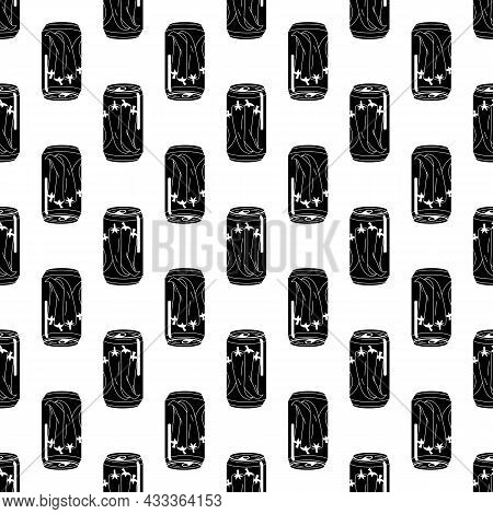 Pepper Tin Can Pattern Seamless Background Texture Repeat Wallpaper Geometric Vector