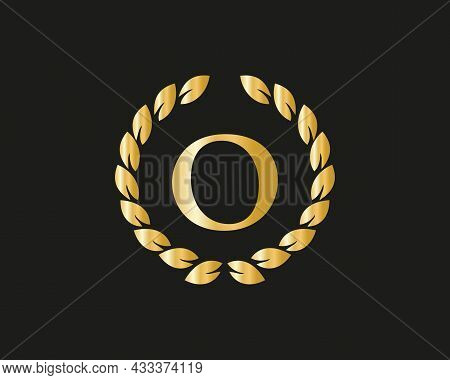 Initial Letter O Logo With Luxurious Concept. O Luxury Logo Template In Vector For Restaurant, Royal