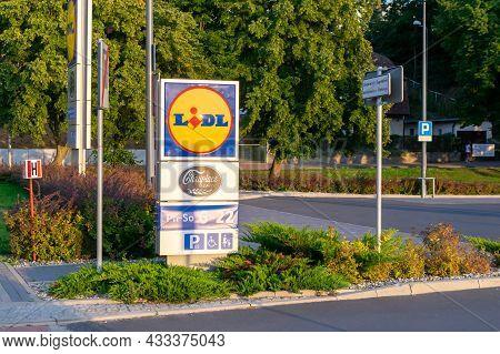 Miedzyzdroje, Poland -05.09.2021 - Lidl Store In Międzyzdroje