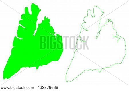 Bolshevik Island (russia, Russian Federation, Severnaya Zemlya Archipelago, Krasnoyarsk Krai) Map Ve